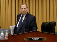 WASHINGTON, DC - MAY 08: House Judiciary Committee Chairman Jerry Nadler (D-NY) leaves after the committee voted to hold Attorney General William Barr in contempt of Congress for not providing an un-redacted copy of special prosecutor Robert Mueller's report in the Rayburn House Office Building on Capitol Hill May 08, …