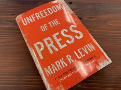 Mark Levin's Unfreedom of the Press (Joel Pollak / Breitbart News)