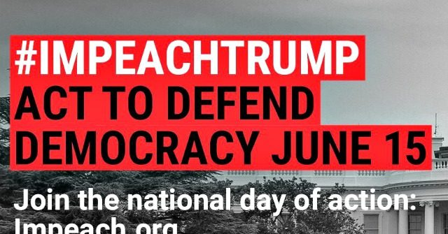 photo image MoveOn Launches Nationwide 'Impeach Donald Trump' Rallies Saturday