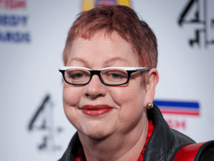 LONDON, ENGLAND - JANUARY 22: Jo Brand attends the British Comedy Awards at the O2 Arena on January 22, 2011 in London, England. (Photo by Ian Gavan/Getty Images)