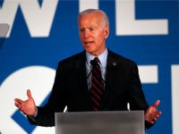 Democratic presidential candidate former Vice President Joe Biden speaks during the I Will Vote Fundraising Gala Thursday, June 6, 2019, in Atlanta. (AP Photo/John Bazemore)