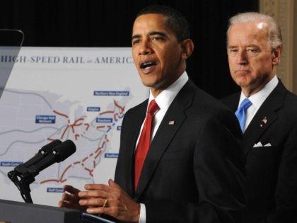 Joe Biden high-speed rail (Tim Sloan / Getty)