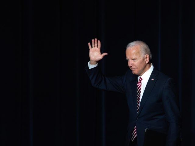 Joe Biden leaves (Saul Loeb / Getty)