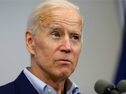 Former vice president and 2020 Democratic presidential candidate Joe Biden speaks during a campaign event on June 11, 2019 in Davenport, Iowa. Biden and over two dozen presidential candidates are seeking the Democratic nomination to challenge Republican President Donald Trump during the 2020 general election.(Photo by Joshua Lott/Getty Images)