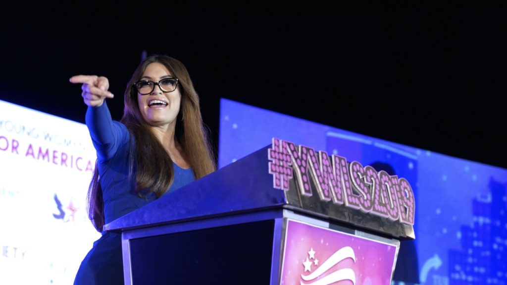 Kimberly Guilfoyle at TPUSA event