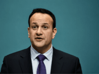 DUBLIN, IRELAND - APRIL 08: Taoiseach Leo Varadkar (pictured) and EU Chief Brexit Negotiator Michel Barnier hold a joint press conference at Government Buildings on April 8, 2019 in Dublin, Ireland. Discussions between the two come ahead of Wednesday's meeting of EU leaders with British Prime Minister Theresa May requesting …