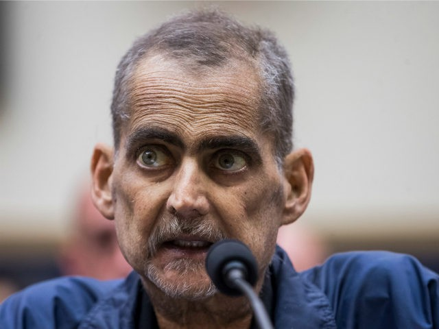 Retired New York Police Department detective and 9/11 responder Luis Alvarez testifies during a House Judiciary Committee hearing on reauthorization of the September 11th Victim Compensation Fund on Capitol Hill on June 11, 2019 in Washington, DC. The fund provides financial assistance to responders, victims and their families who require …