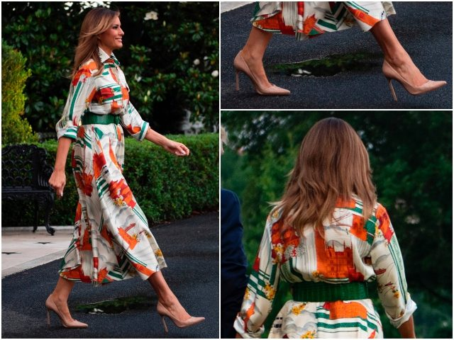 Melania Trump Totally Copied Princess Diana While Meeting The Queen Today