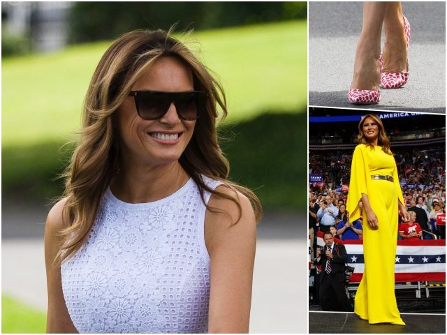 Fashion Notes: Melania Trump Throws on Shades, Ralph Lauren Jumpsuit for the Sunshine State