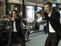 Chris Hemsworth and Tessa Thompson in Men in Black: International (2019)