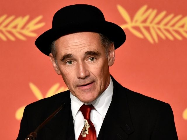"""CANNES, FRANCE - MAY 14: Mark Rylance attends """"The BFG (Le Bon Gros Geant - Le BGG)"""" press conference during the 69th annual Cannes Film Festival at the Palais des Festivals on May 14, 2016 in Cannes, France. (Photo by Clemens Bilan/Getty Images)"""