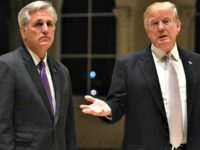 McCarthy Backs Trump