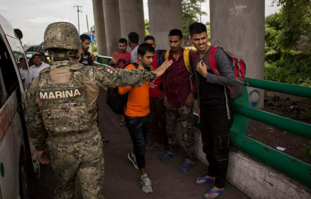 Mexico Sends 15,000 Troops to Border with U.S.