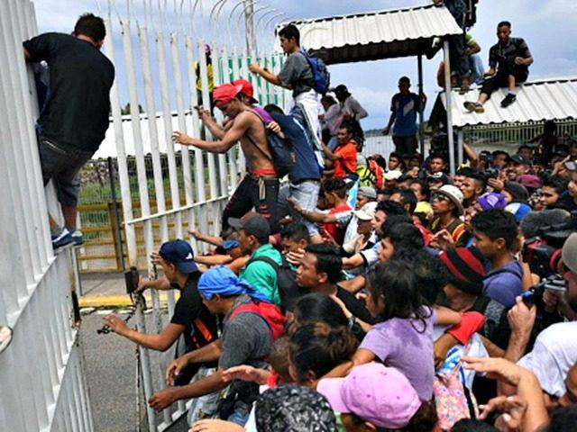 Mexico southern border
