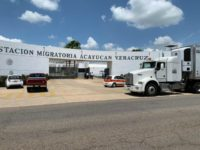 VIDEO: Mexican Feds Detain 500 Central American Migrants in Tractor Trailers