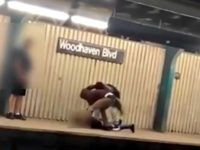 NYC Subway Beating
