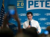 Democratic presidential candidate Mayor Pete Buttigieg speaks at a grassroots event on Friday, June 14, 2019, in Alexandria, Va. (AP Photo/Sait Serkan Gurbuz)
