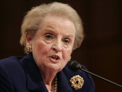 Former Secretary of State Madeleine Albright (AP Photo)