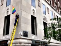 Michigan's Romney Building Flies Pride Flags for First Time