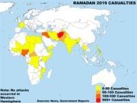 Ramadan 2019 casualties map