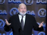 CENTURY CITY, CA - JANUARY 25: Director Rob Reiner speaks onstage at the 66th Annual Directors Guild Of America Awards held at the Hyatt Regency Century Plaza on January 25, 2014 in Century City, California. (Photo by Alberto E. Rodriguez/Getty Images for DGA)