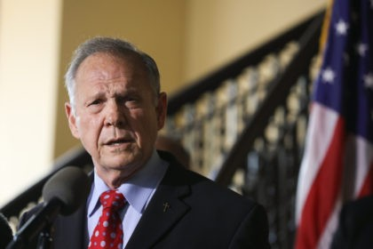 MONTGOMERY, AL - JUNE 20: Roy Moore announces his plans to run for U.S. Senate in 2020 on June 20, 2019 in Montgomery, Alabama. Moore lost a special election in 2017 for the Senate seat against Democratic Senator Doug Jones. (Photo by Jessica McGowan/Getty Images)