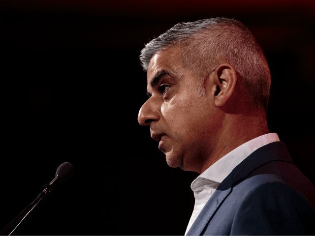 LONDON, ENGLAND - MARCH 28: Mayor of London Sadiq Khan speaks at the annual British Chambers of Commerce conference on March 28, 2019 in London, England. (Photo by Jack Taylor/Getty Images)
