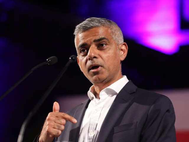 Mayor of London Sadiq Khan making a speech during the London Autumn Season launch at the Natural History Museum on August 31, 2017 in London, England. (Photo by Tim P. Whitby/Tim P. Whitby/Getty Images)