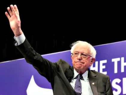 Democratic presidential candidate Sen. Bernie Sanders, I-Vt., waves as he attends a presidential forum held by She The People on the Texas State University campus Wednesday, April 24, 2019, in Houston. (AP Photo/Michael Wyke) (Photo: Michael Wyke, AP)