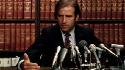 What Joe Biden said about school busing amendment in 1977