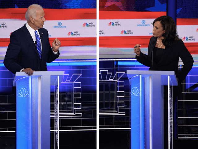 Joe Biden vs. Kamala Harris (Saul Loeb / AFP / Getty)