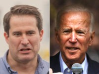 Seth Moulton, Joe Biden - collage.