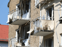 A view of damaged balconies and windows at a block of flats that were hit by an explosion, in Linkoping, Sweden, Friday, June 7, 2019. A blast ripped through two adjacent apartment buildings in a southern Sweden city on Friday, police said. There were unconfirmed reports of people with minor …
