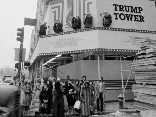 Trump Tower 1981 (Suzanne Vlamis / Associated Press)