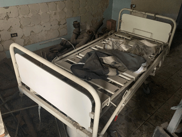 Picture of damaged medical equipment taken in a deteriorated area of the Jose Manuel de los Rios Hospital, the main public pediatric hospital in Venezuela, in Caracas, on May 24, 2019. (Photo by Marvin RECINOS / AFP) (Photo credit should read MARVIN RECINOS/AFP/Getty Images)