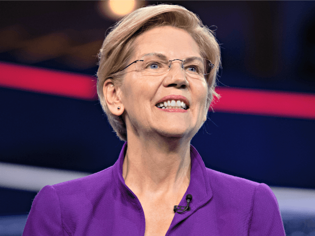 Democratic presidential hopeful US Senator from Massachusetts Elizabeth Warren arrives to participate in the first Democratic primary debate of the 2020 presidential campaign season hosted by NBC News at the Adrienne Arsht Center for the Performing Arts in Miami, Florida, June 26, 2019. (Photo by SAUL LOEB / AFP) (Photo …