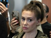 Video: Alyssa Milano Tries and Fails to Enter Florida Migrant Shelter