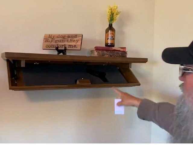 Tactical Traps Compact Shelf: Hide Your Firearm in Plain Sight