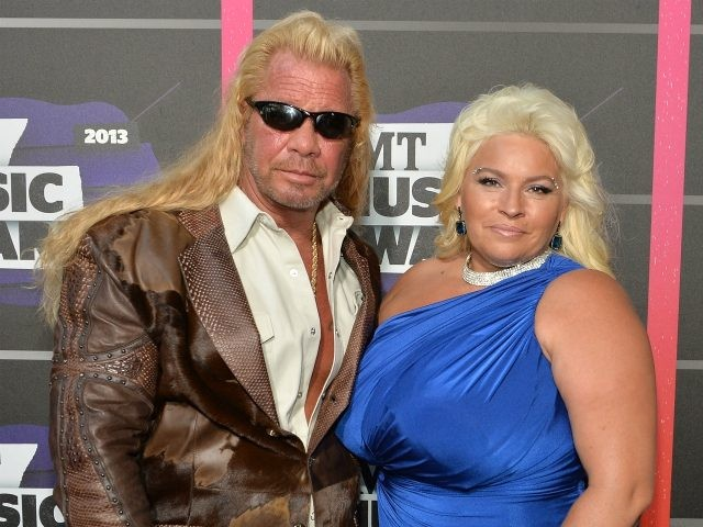 NASHVILLE, TN - JUNE 05: (L-R) TV personalities Duane Dog Lee Chapman and Beth Chapman attend the 2013 CMT Music awards at the Bridgestone Arena on June 5, 2013 in Nashville, Tennessee. (Photo by Rick Diamond/Getty Images)
