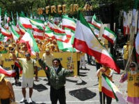 Iranian-Americans March in D.C., Call for Regime Change in Iran: 'Down with Terrorist Regime in Iran'