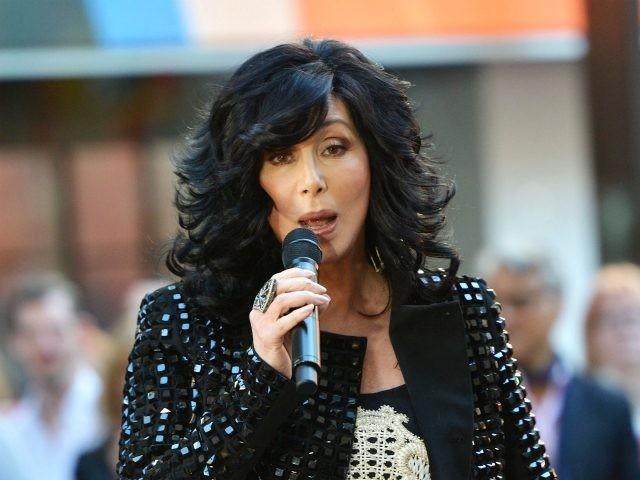 "NEW YORK, NY - SEPTEMBER 23: Singer Cher peforms on NBC's ""Today"" at NBC's TODAY Show on September 23, 2013 in New York City. (Photo by Slaven Vlasic/Getty Images)"