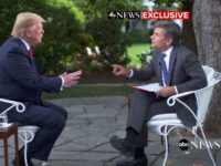 President Donald Trump grew combative in an interview with ABC News host George Stephanopoulos released on Friday, after he tried to rehash some of the details of the Mueller report.