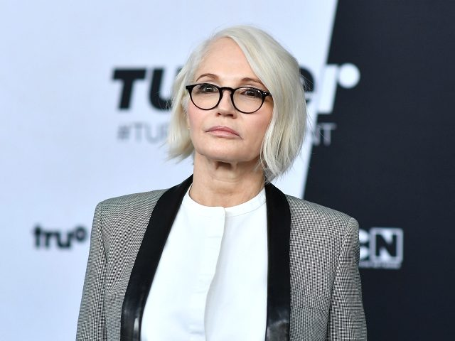 Ellen Barkin attends the Turner Upfront 2018 arrivals at The Theater at Madison Square Garden on May 16, 2018 in New York City. (Photo by ANGELA WEISS / AFP) (Photo credit should read ANGELA WEISS/AFP/Getty Images)
