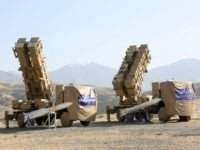 This photo released by the official website of the Iranian Defense Ministry on Sunday, June 9, 2019, shows the Khordad 15, a new surface-to-air missile battery at an undisclosed location in Iran. The system uses locally made missiles that resemble the HAWK missiles that the U.S. once sold to the …
