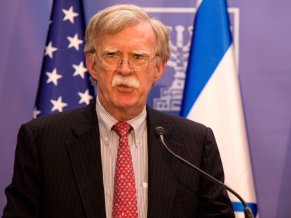 Bolton Tells Iran: Do Not Mistake U.S. 'Prudence' for Weakness