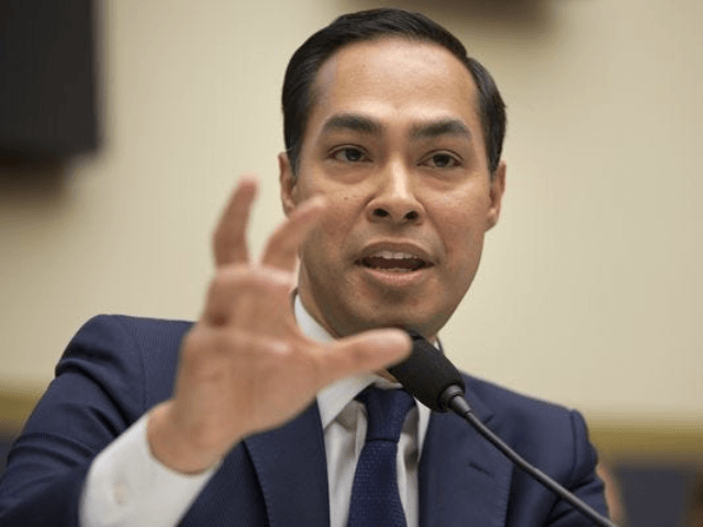 In this July 13, 2013, photo, House and Urban Development Secretary Julian Castro testifies on Capitol Hill in Washington. Castro is being considered by Hillary Clinton as a vice presidential pick. (AP Photo/Pablo Martinez Monsivais, File) ORG XMIT: WX204 (Photo: Pablo Martinez Monsivais, AP)