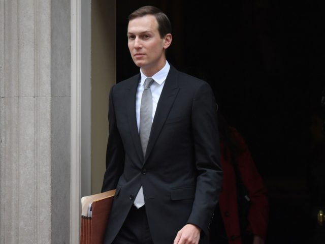 Special Advisor to the US President, Jared Kushner, leaves from 10 Downing Street in London on June 4, 2019, on the second day of the US President and First Lady's three-day State Visit to the UK. - US President Donald Trump turns from pomp and ceremony to politics and business …
