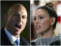 Michael Avenatti Rips 'Disgusting Hypocrite' Alyssa Milano