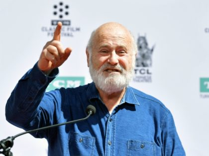 HOLLYWOOD, CALIFORNIA - APRIL 12: Rob Reiner speaks onstage at the Hand and Footprint Ceremony: Billy Crystal at the 2019 10th Annual TCM Classic Film Festival on April 12, 2019 in Hollywood, California. (Photo by Emma McIntyre/Getty Images for TCM)
