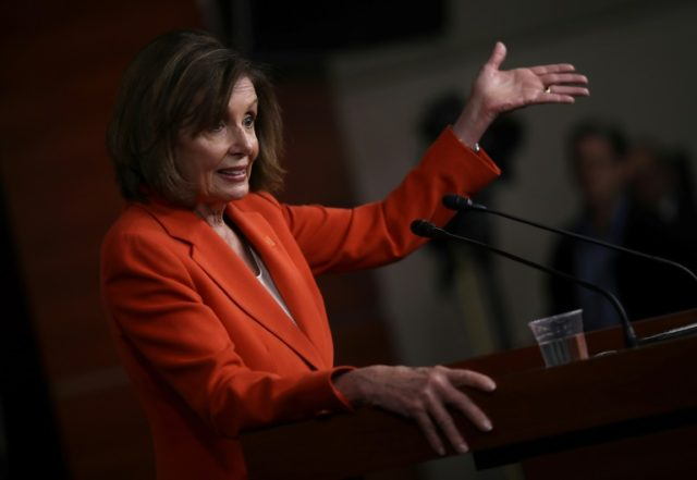 Pelosi told Dems she'd like Trump 'in prison': report